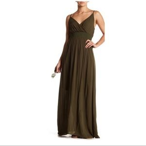 West Kei Maxi Dress in Olive
